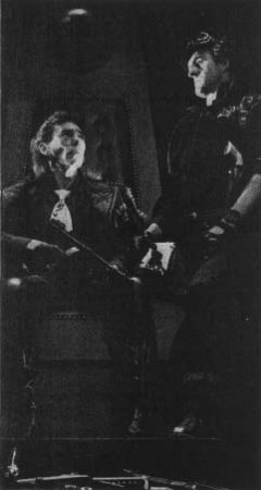 Mike Pratt as Hoss and Christopher Malcolm as Cheyenne in a 1974 production of The Tooth of...<br>